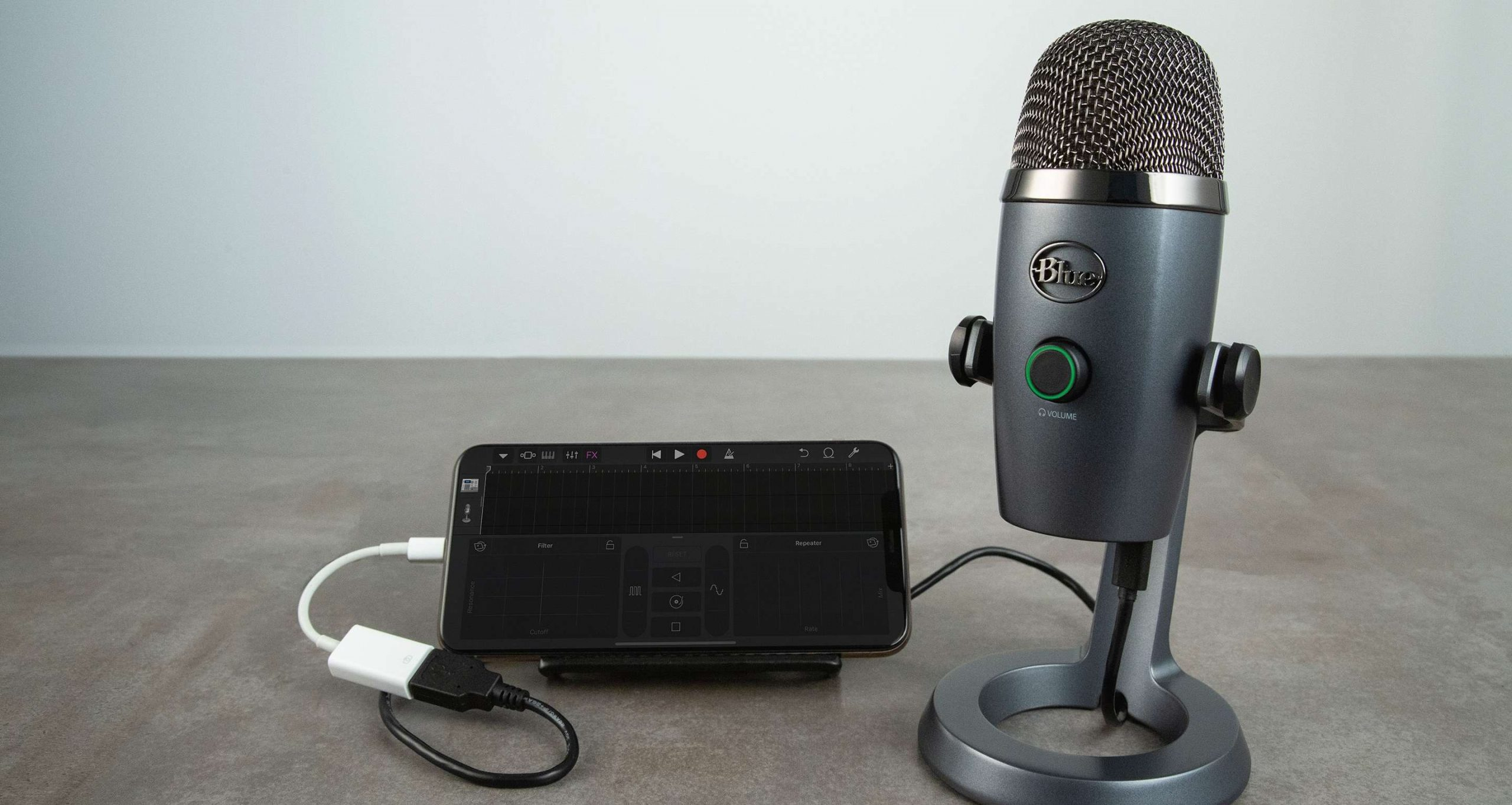 How to Use Blue USB Microphones with an iPhone, iPad, or Android Device